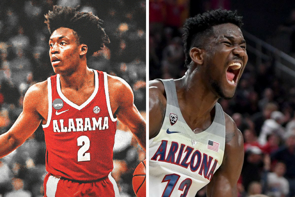 reputable site d375e cd411 NBA Rookies Pick DeAndre Ayton & Collin Sexton To Win Rookie ...