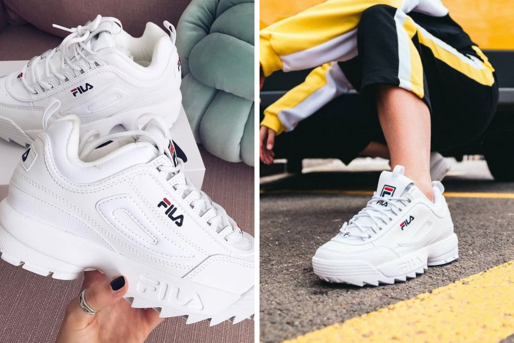 FILA DISRUPTOR 2 LOOK Style Over Function
