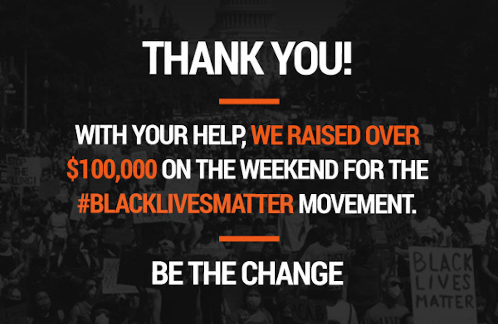 Be The Change: Thank You!