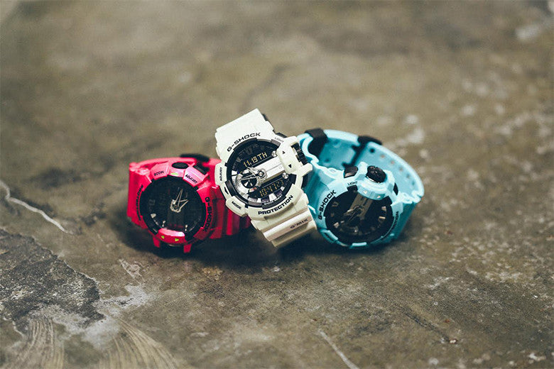 G-Shock G-Mix new colours available now
