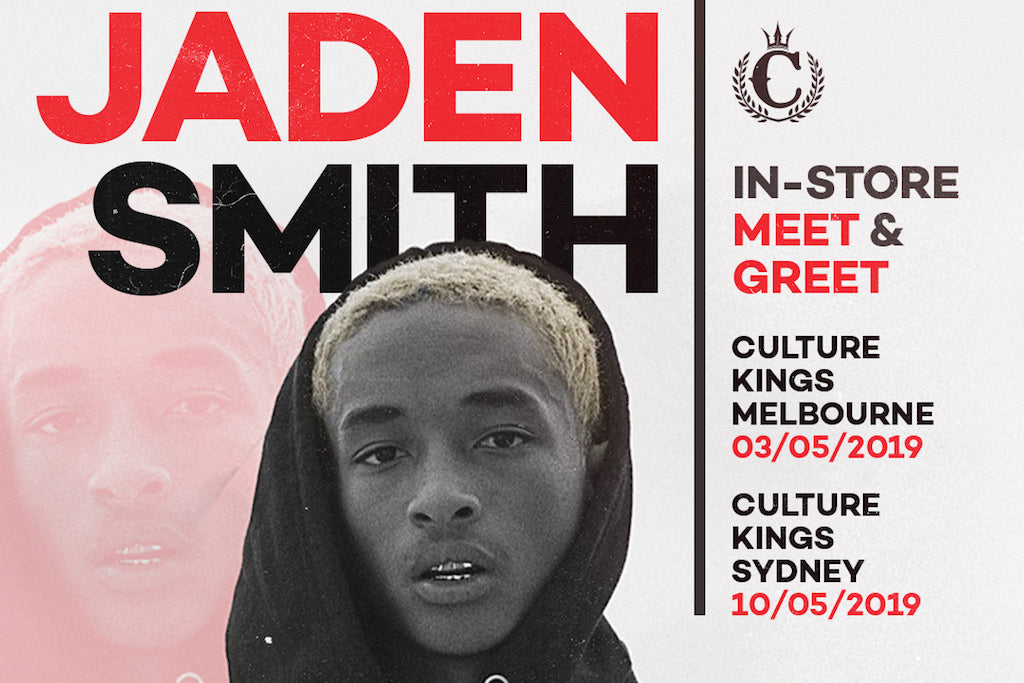JADEN SMITH IS COMING TO CULTURE KINGS