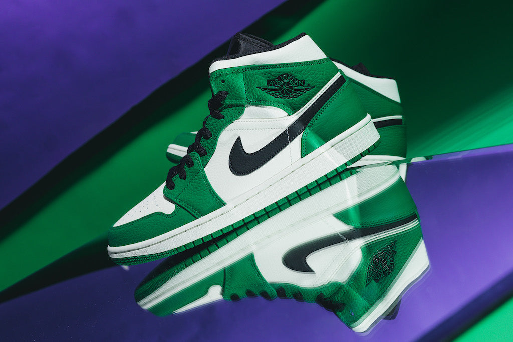 Envy This Green Air Jordan 1 Mid HEAT