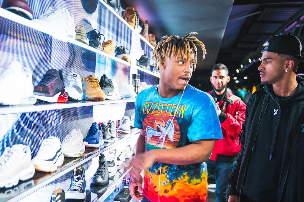 Juice WRLD Hit Up Culture Kings Melbourne