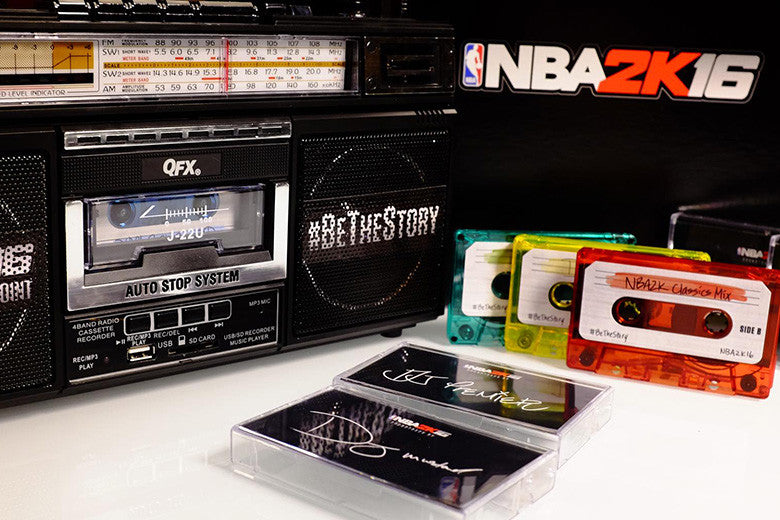 Win a NBA 2K16 Boombox to celebrate the release of NBA 2K16