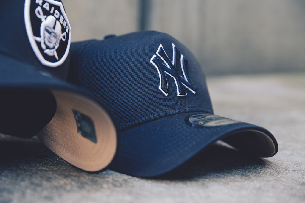 Navy/Camel Underbrims Are Fire