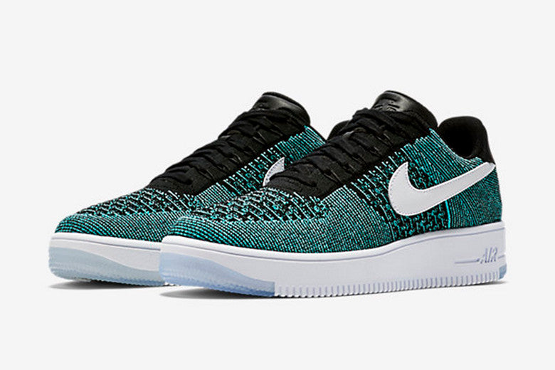"promo code ea503 3afc6 Nike Air Force 1 Low Flyknit ""HYPER JADE"""