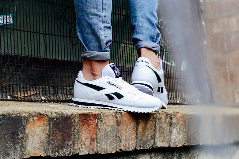 Reebok CL Leather Ripple Low White