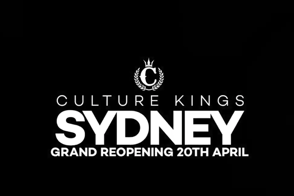 6 Days Till Culture Kings Sydney Grand Re-Opening!