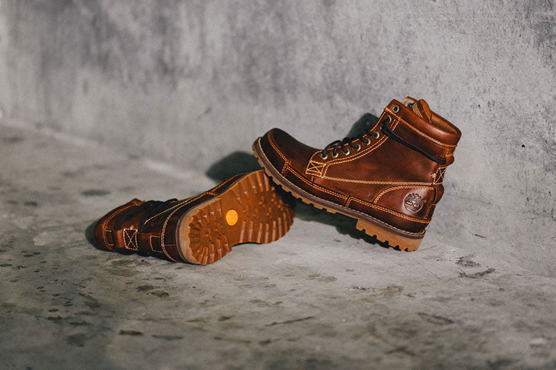 Timberland Earthkeepers Red Brown Burnished