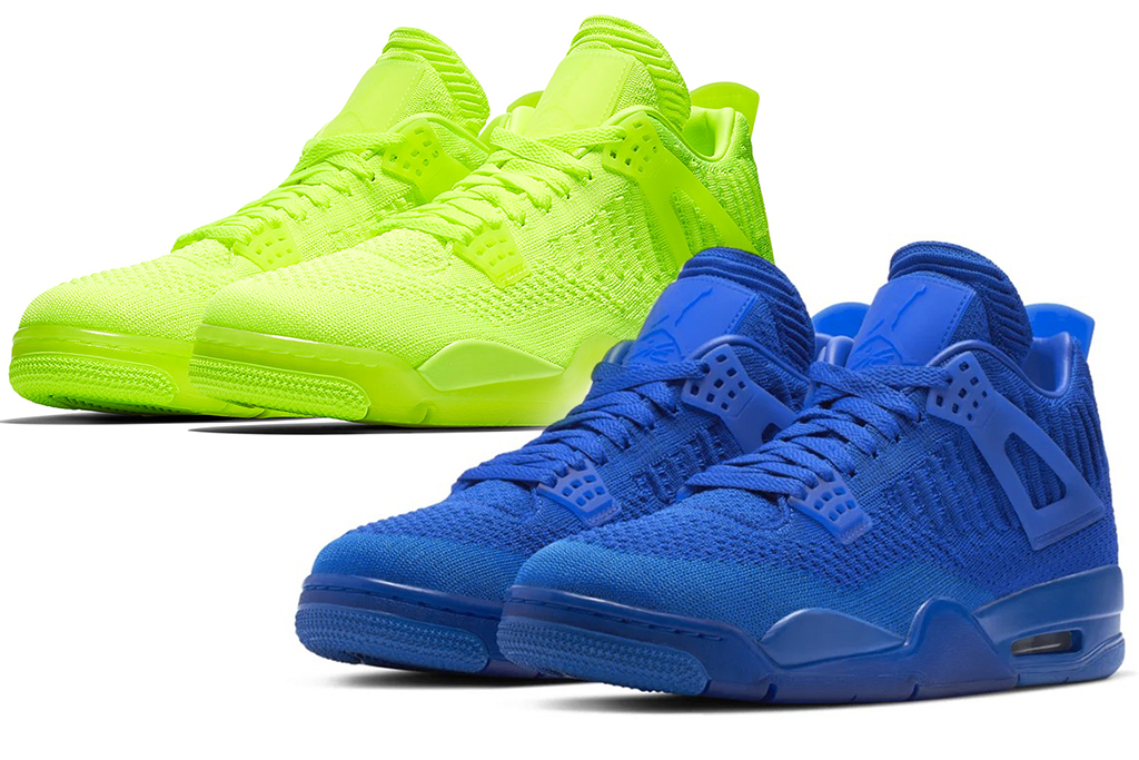 Air Jordan 4 Retro Flyknit Is Touching Down