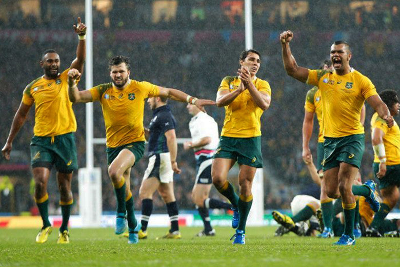 Rugby World Cup: Wallabies beat Scotland 35-34!