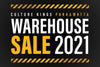 Our Warehouse Sale Is Back!