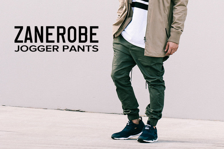 Zanerobe Fit Guide: Jogger Pant Comparison