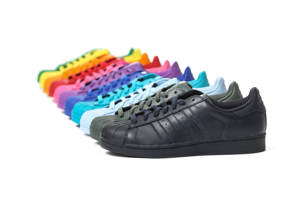 "Pharell x Adidas ""Supercolour Pack"""