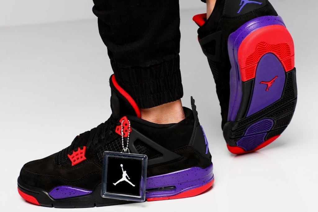 reputable site e3134 a1ee7 Air Jordan 4 Retro NRG Raptors Are Too Much Heat