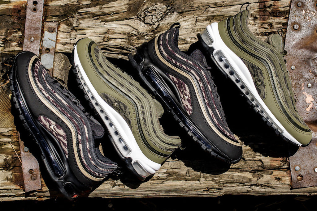 Get Ready To Cop The Nike Air Max 97  Tiger Camo  Pack – Culture Kings a092cce91