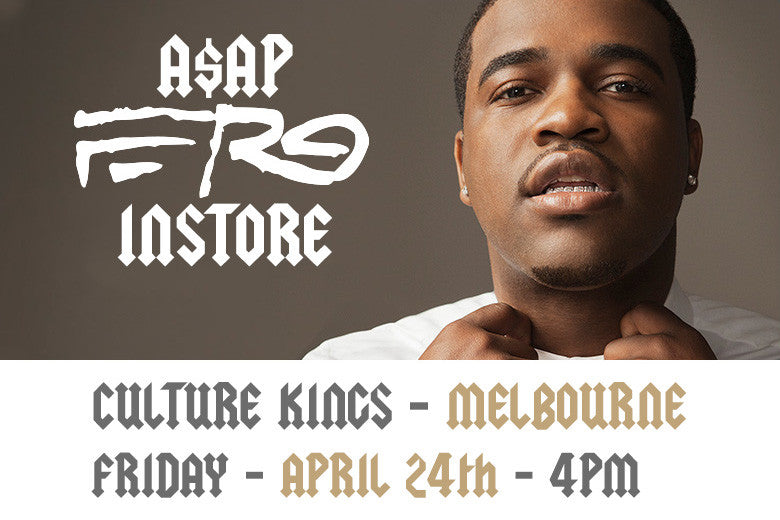The Traplord, ASAP Ferg In Store at Culture Kings Melbourne!