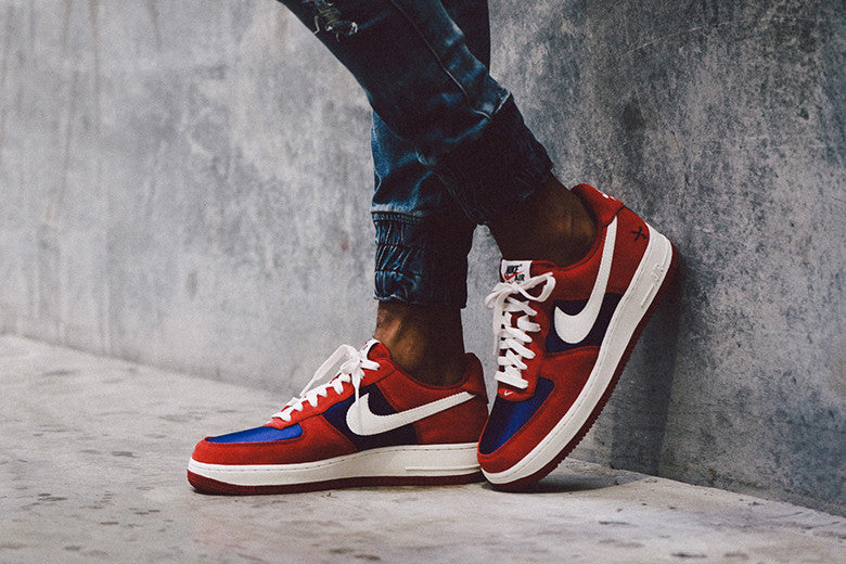 Nike Air Force 1 '07 Red/Blue
