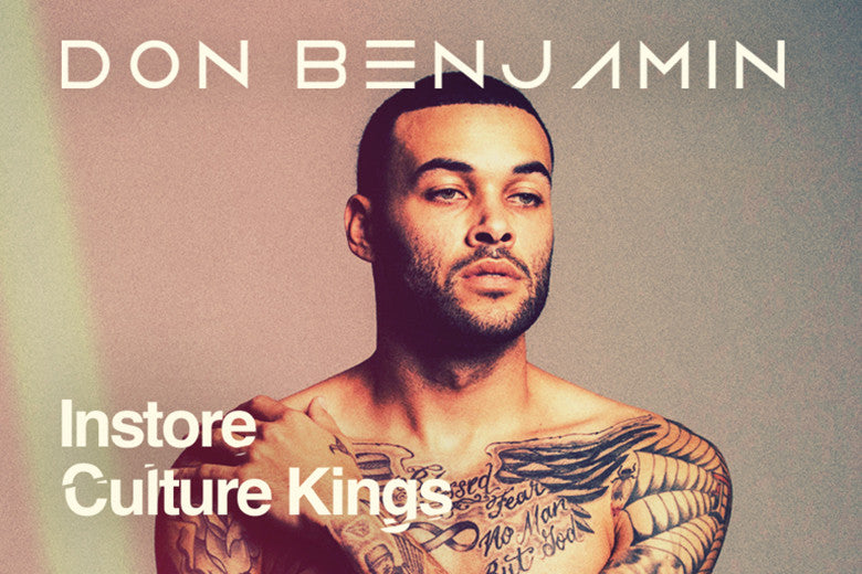 Don Benjamin Hits Culture Kings Sydney