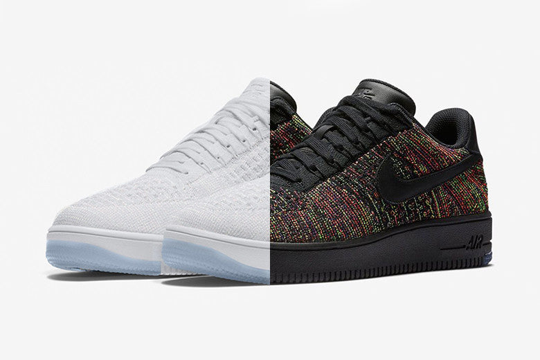 Nike's Flyknit Air Force 1 Low's Releasing Soon