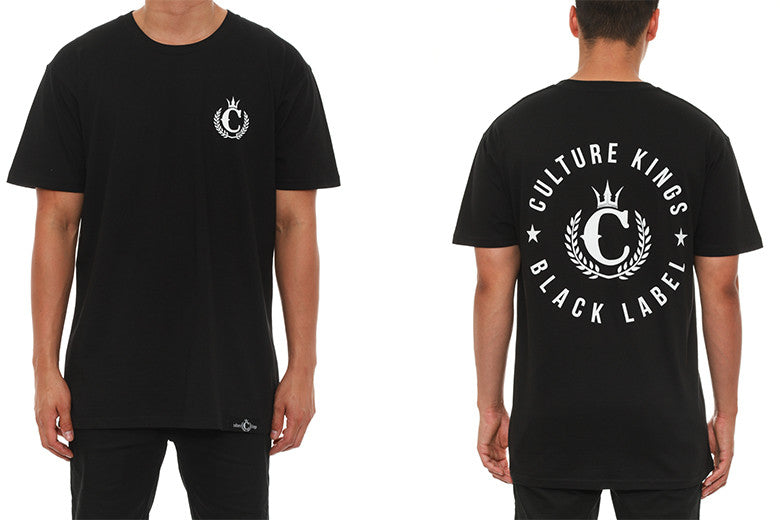 Culture Kings Black Label T-Shirt