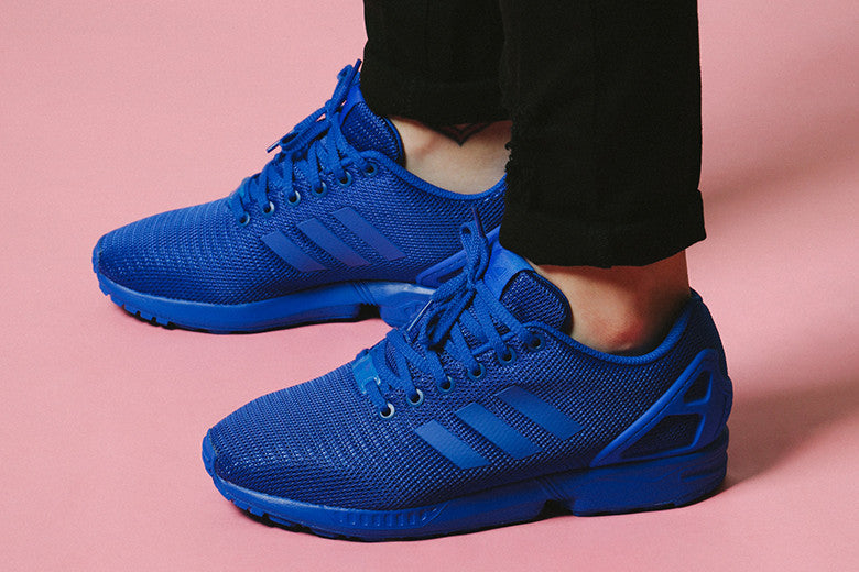 9f399a3d397 adidas Originals ZX Flux Solid Blue – Culture Kings