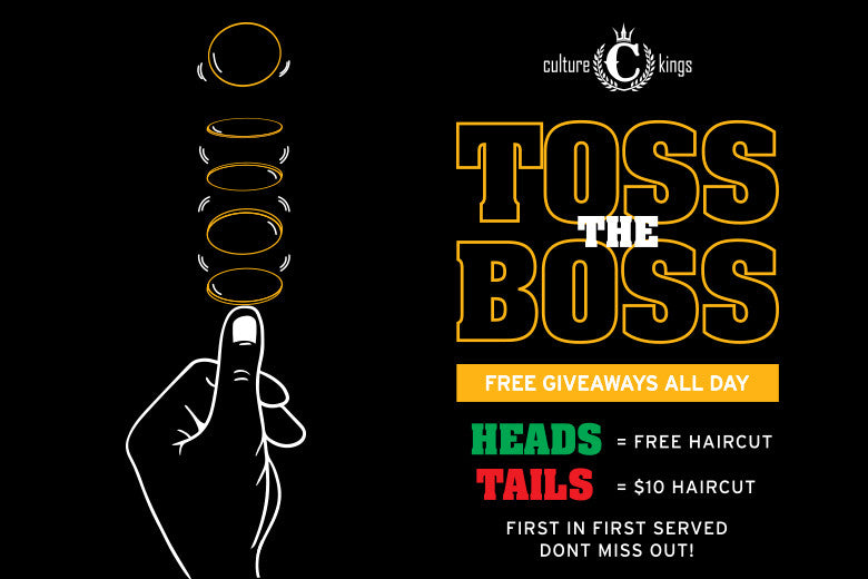 Toss The Boss Competition Coming Soon!