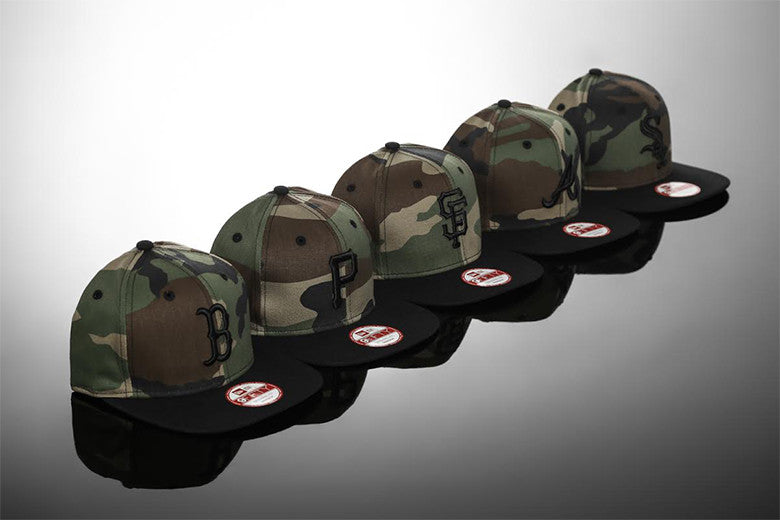 New Era Original Fit Camo Series