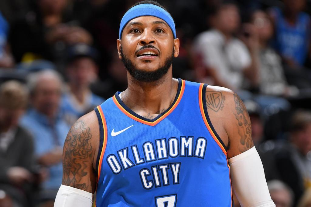 d2abd93ae8ffc Carmelo Anthony Stays With Oklahoma For  27.9 Million – Culture Kings