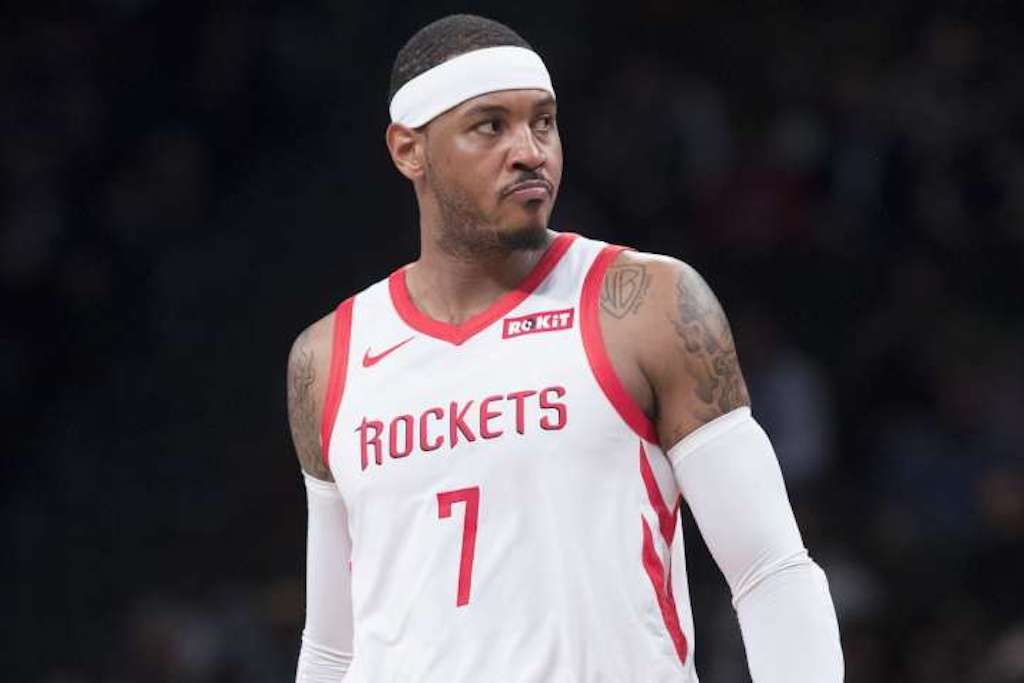 "Carmelo Anthony & Rockets In ""Serious Talks"" About Future"