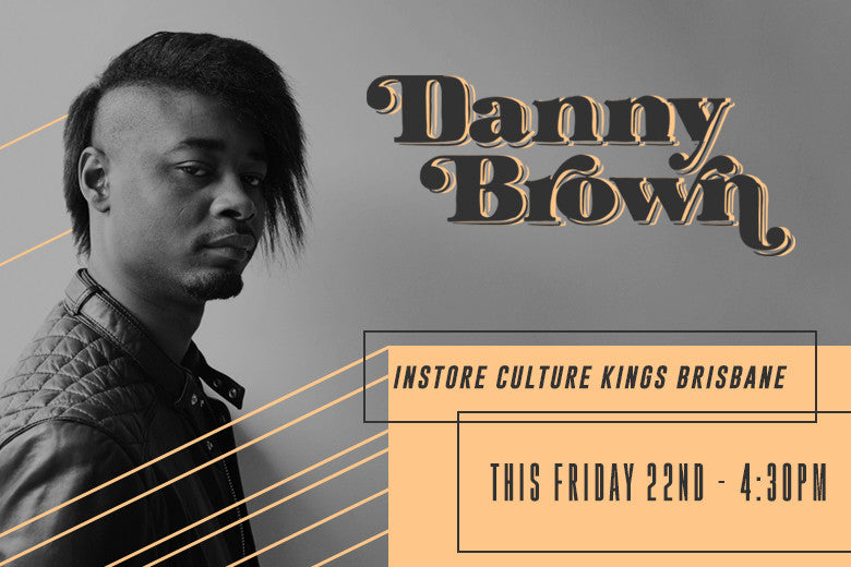 Danny Brown hitting Culture Kings