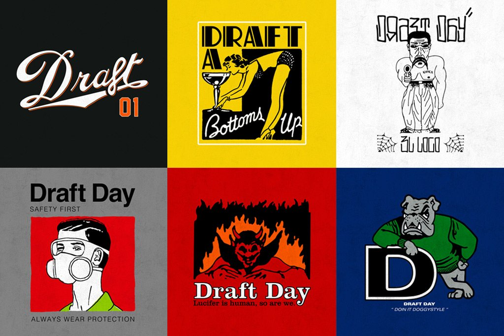 One Week Until The First Draft Day Monthly Tee Drop