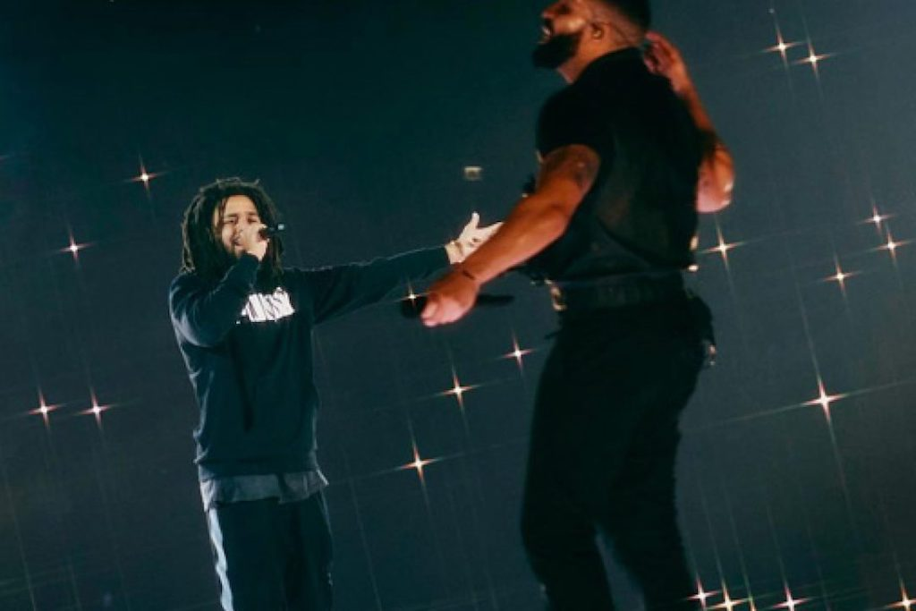 Drake Teases New Music With J. Cole </p>                     </div>   <!--bof Product URL --> <!--eof Product URL --> <!--bof Quantity Discounts table --> <!--eof Quantity Discounts table --> </div>                        </dd> <dt class=