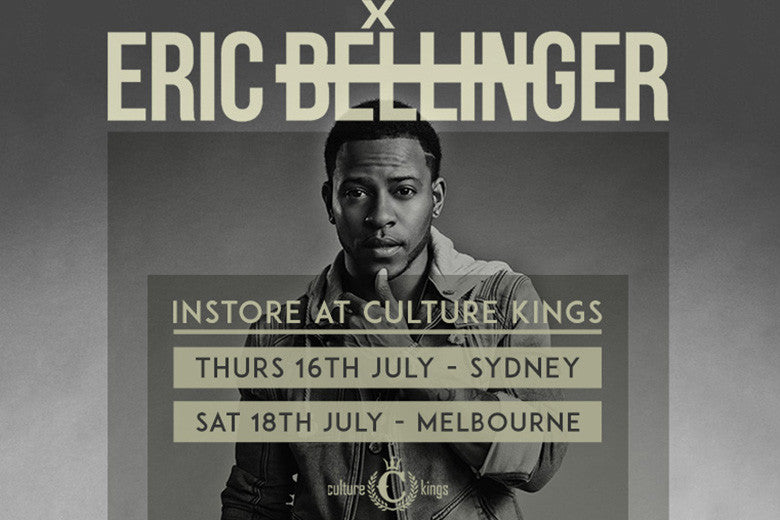 Eric Bellinger Coming To Culture Kings