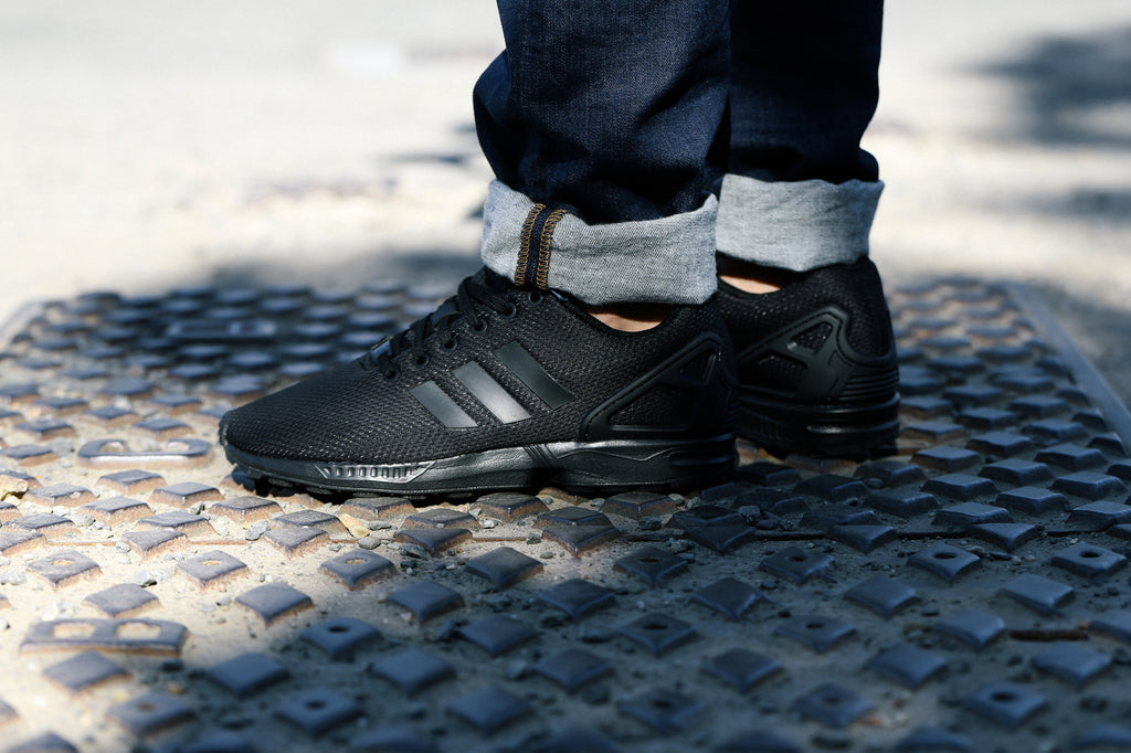 Editor científico Incompetencia  adidas zx flux triple black and gold cheap online