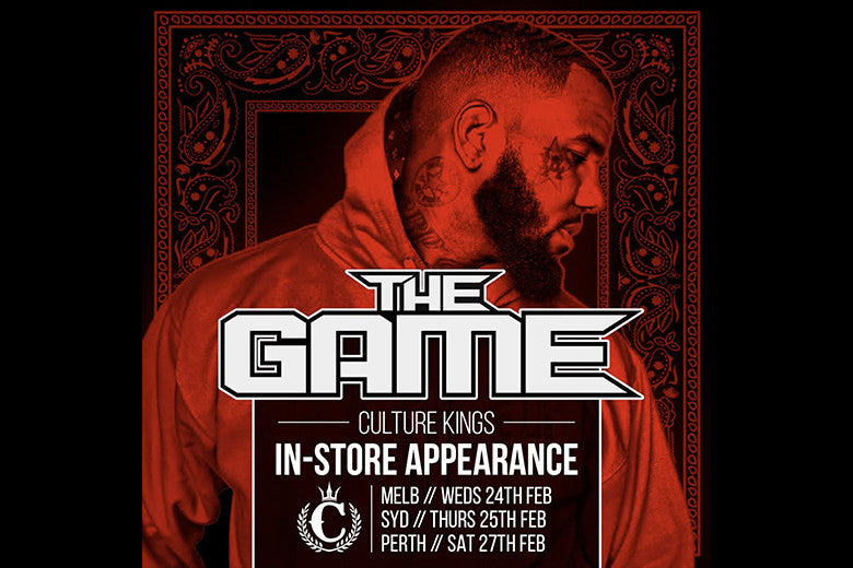 The Game Official Instore Appearances
