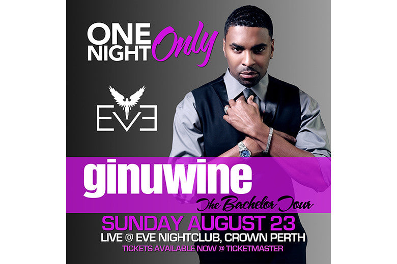Hang out with R&B legend Ginuwine
