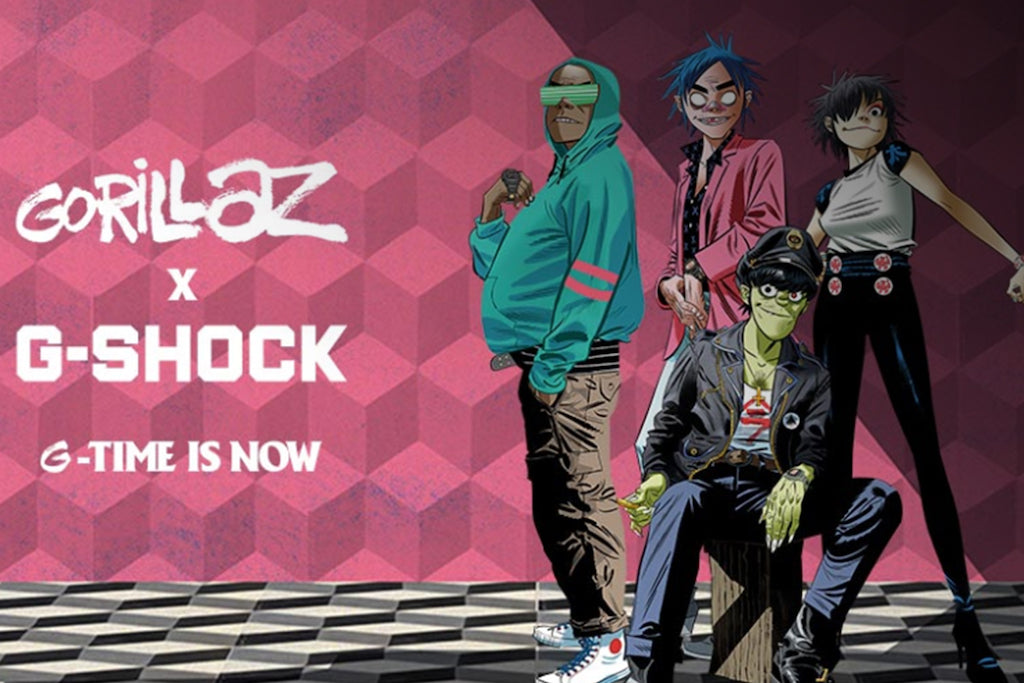 Gorillaz x G-Shock Collection - Only 2 Places In The World To Cop!