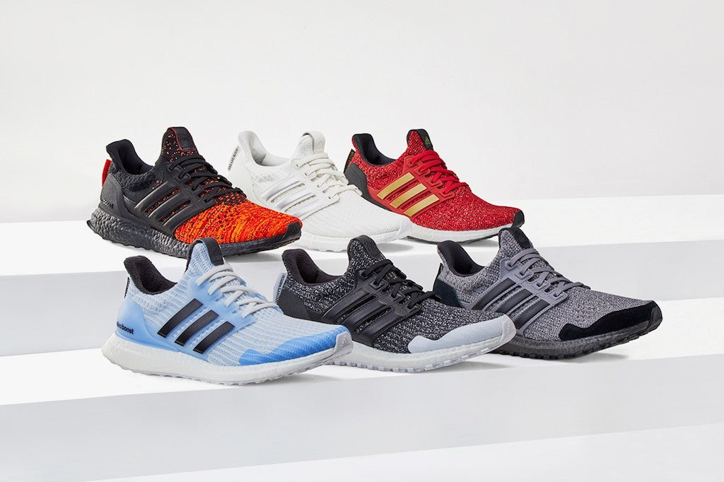 FULL LOOK: adidas UltraBOOST x Game Of Thrones </p>                     </div> 					<!--bof Product URL --> 										<!--eof Product URL --> 					<!--bof Quantity Discounts table --> 											<!--eof Quantity Discounts table --> 				</div> 			</dd> 						<dt class=