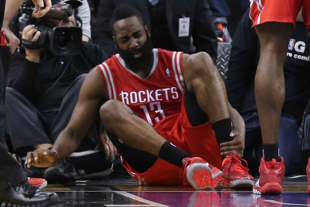 James Harden Out Of Next Two Rockets Games