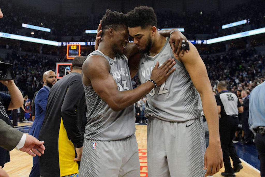 Karl-Anthony Towns Mourns Jimmy Butler Trade