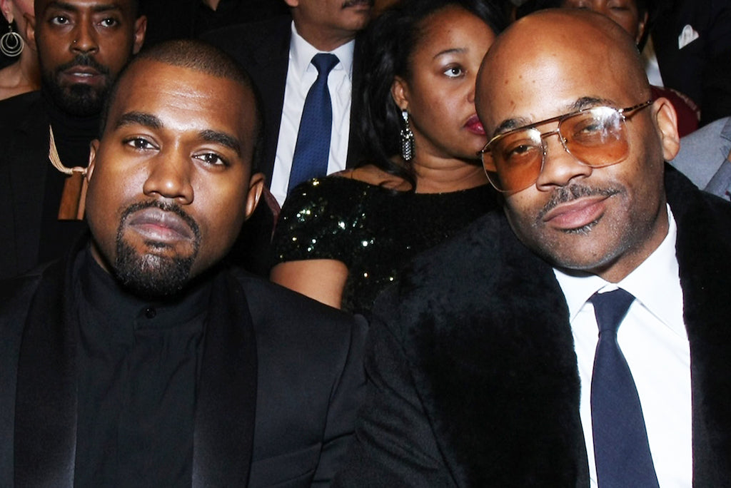 Watch Kanye Freestyle While Hanging Out With Dame Dash