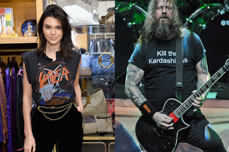 Kendall Jenner Hits Back At To Slayer's 'Kill The Kardashians' Tee