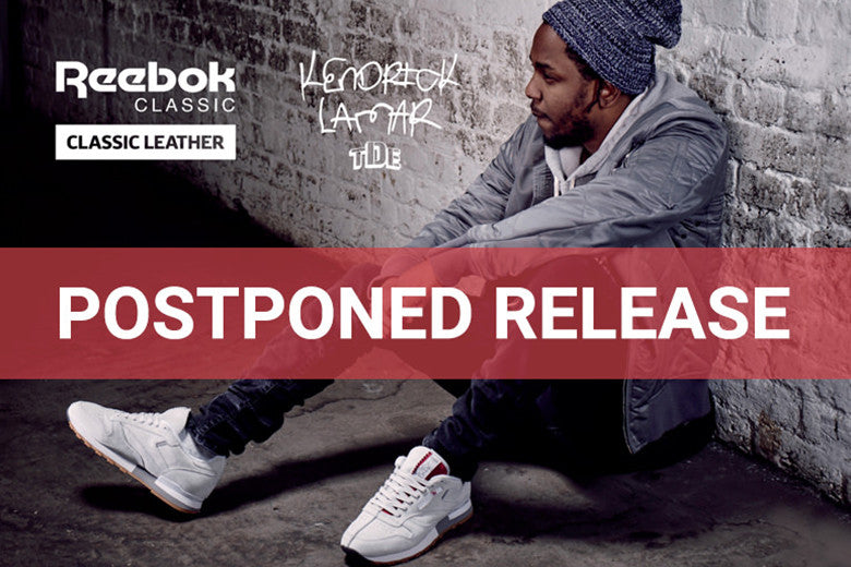 Reebok x Kendrick Lamar CL Leather Release Postponed