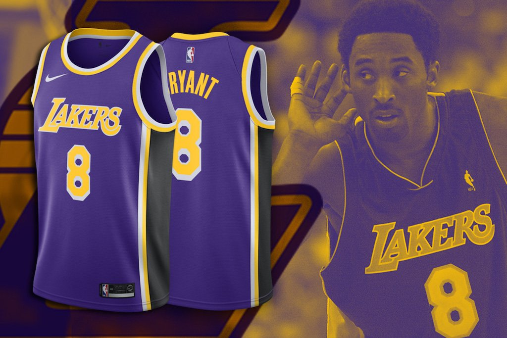 Cop Your Kobe Lakers Jersey Right Now! – Culture Kings ea8109959