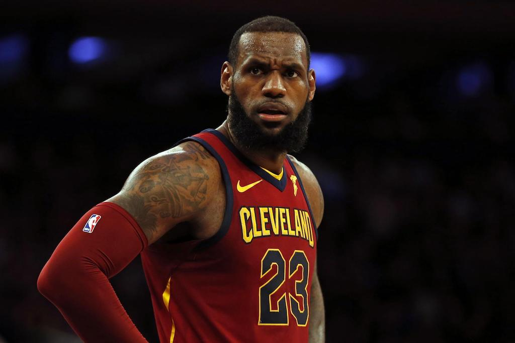 10c7840a5 LeBron James Says He Didn't Want The Cavs to Trade Kyrie Irving ...