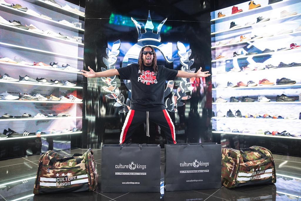 3a6d55e7be42 WHAT ! Lil Jon Hits Up Culture Kings Gold Coast