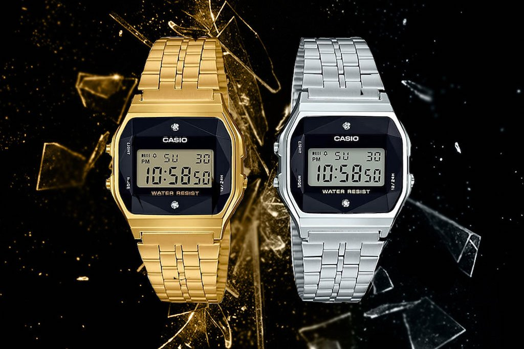 Feel That Icy Heat With Casio s Diamond Series – Culture Kings 2d7f88cf7