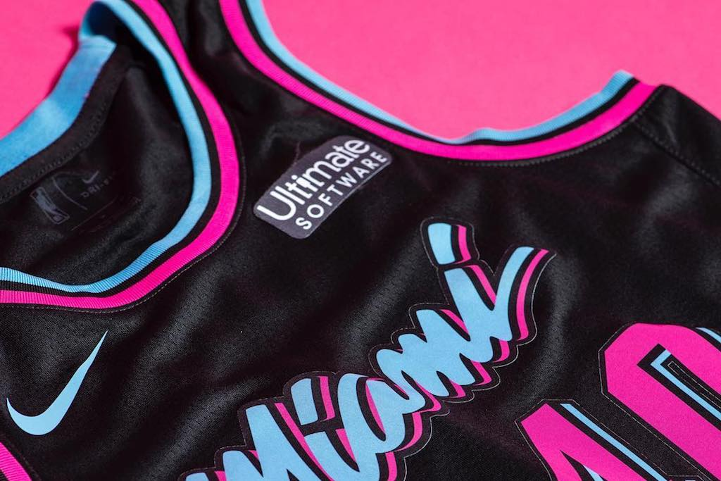 uk availability 1a4be 80323 Miami Heat Go Total 'Miami Vice' With New Uniforms – Culture ...