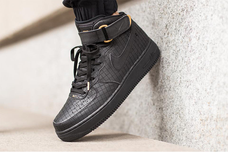 "3c2feed789d2 Nike Air Force 1 Mid 07 LV8 ""Black"" – Culture Kings"
